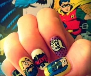 batman, girl, and hipster image