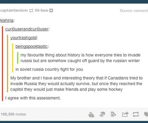 canada, russia, and tumblr image