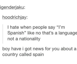funny, spanish, and spain image