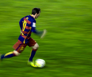 Barcelona and lionel messi image