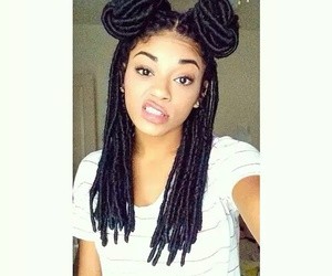 hairstyle and dreads image
