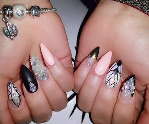 kawai, nails, and pandora image