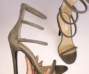 shoes, heels, and nails image