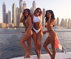 best friends, girls, and lifestyle image