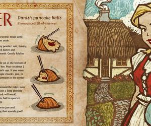 danish, pancakes, and recipe image