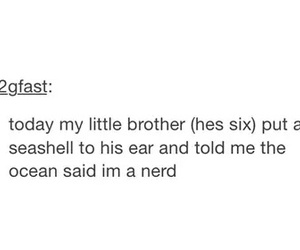 brother, siblings, and tumblr image