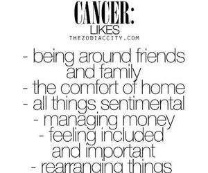 cancer and zodiac image