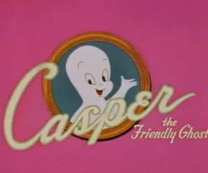 casper, ghost, and pink image