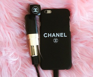 chanel, lipstick, and photography image