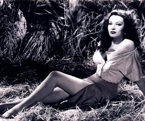 beauty, hollywood, and linda darnell image
