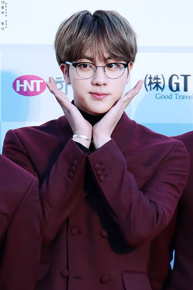 27 Images About Jin Cute Smile On We Heart It See More About