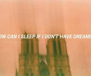 dreams, sleep, and frases image