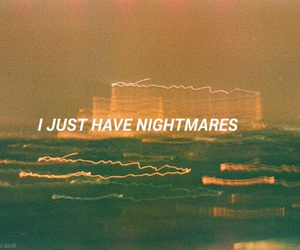 dreams, nightmares, and sleep image