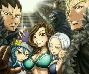 fairy tail, cana alberona, and mirajane strauss image