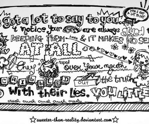 doodle, cute, and paramore image