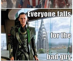 loki, Avengers, and bad guy image