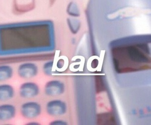 bad, pastel, and pink image