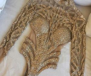 fashion, gold, and luxury image