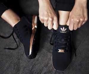 adidas, love, and black image