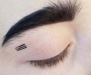 grunge, black, and eyebrows image