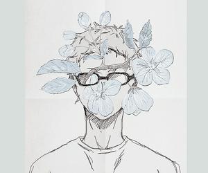 haikyuu, art, and tsukishima kei image