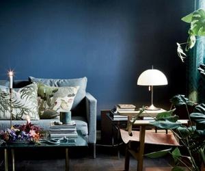 home decor, leather sofa, and living room decor image