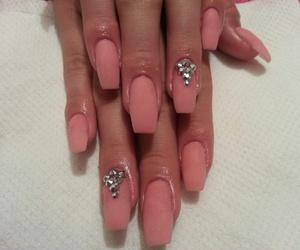 acrilic, beautiful, and nails image