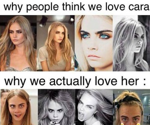 cara delevingne, funny, and model image