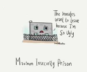 funny and prison image