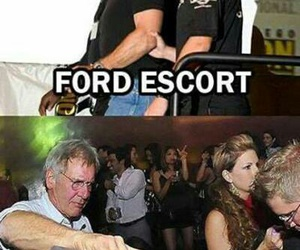 funny, harrison ford, and pun image