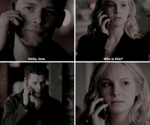 tvd, caroline, and The Originals image
