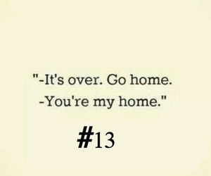 13, go, and home image