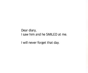 diary, happiness, and he image