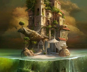 fantasy, art, and castle image