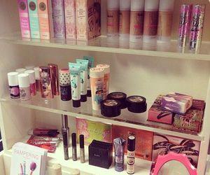 makeup, benefit, and cosmetics image