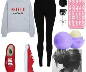 eos, Polyvore, and vans image