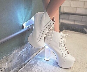 shoes, white, and light image