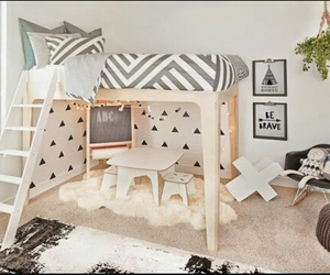 Chambre, cute, and room image