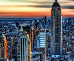 building and new york image