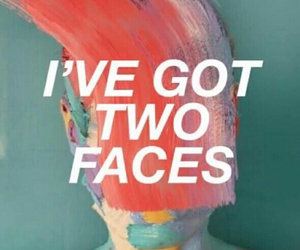 painting, two faces, and twenty one pilots image