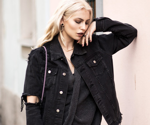 black, black jeans, and blogger image