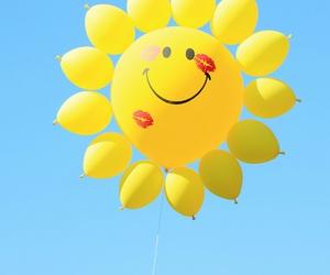 balloon, beautiful, and happiness image