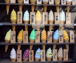 ice cream, food, and japan image