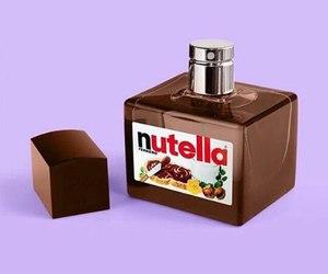 nutella, perfume, and chocolate image