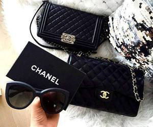 chanel, black, and fashion image