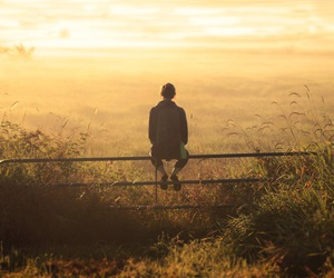 nature, alone, and boy image