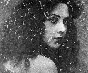 vintage, stars, and woman image