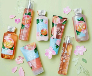 blossoms, spring, and peaches image