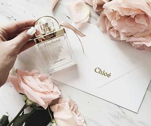 chloe, rose, and perfume image