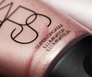 makeup, nars, and rose gold image